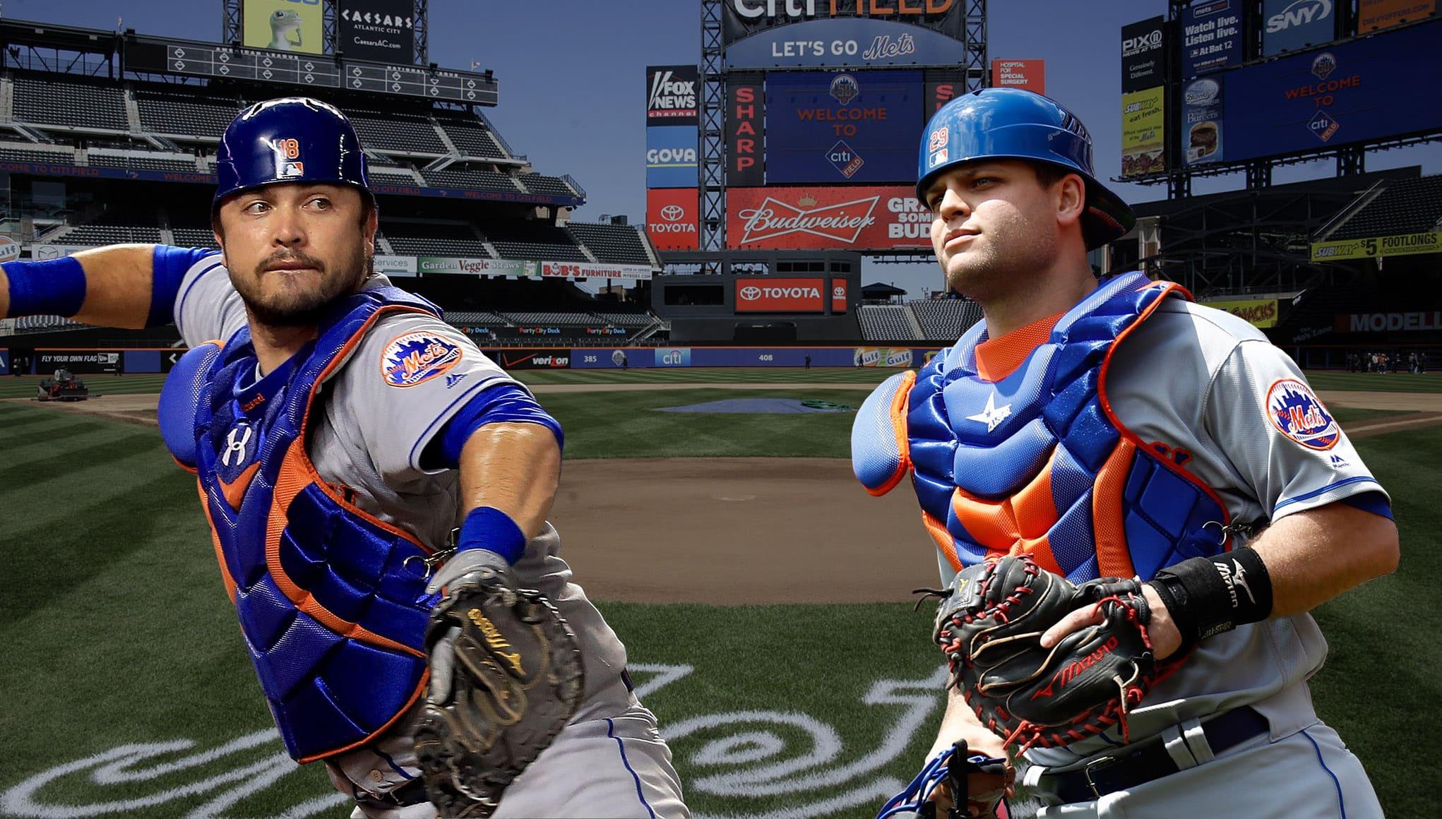 Devin Mesoraco, Travis d'Arnaud, New York Mets