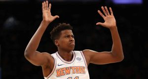 New York Knicks Frank Ntilikina