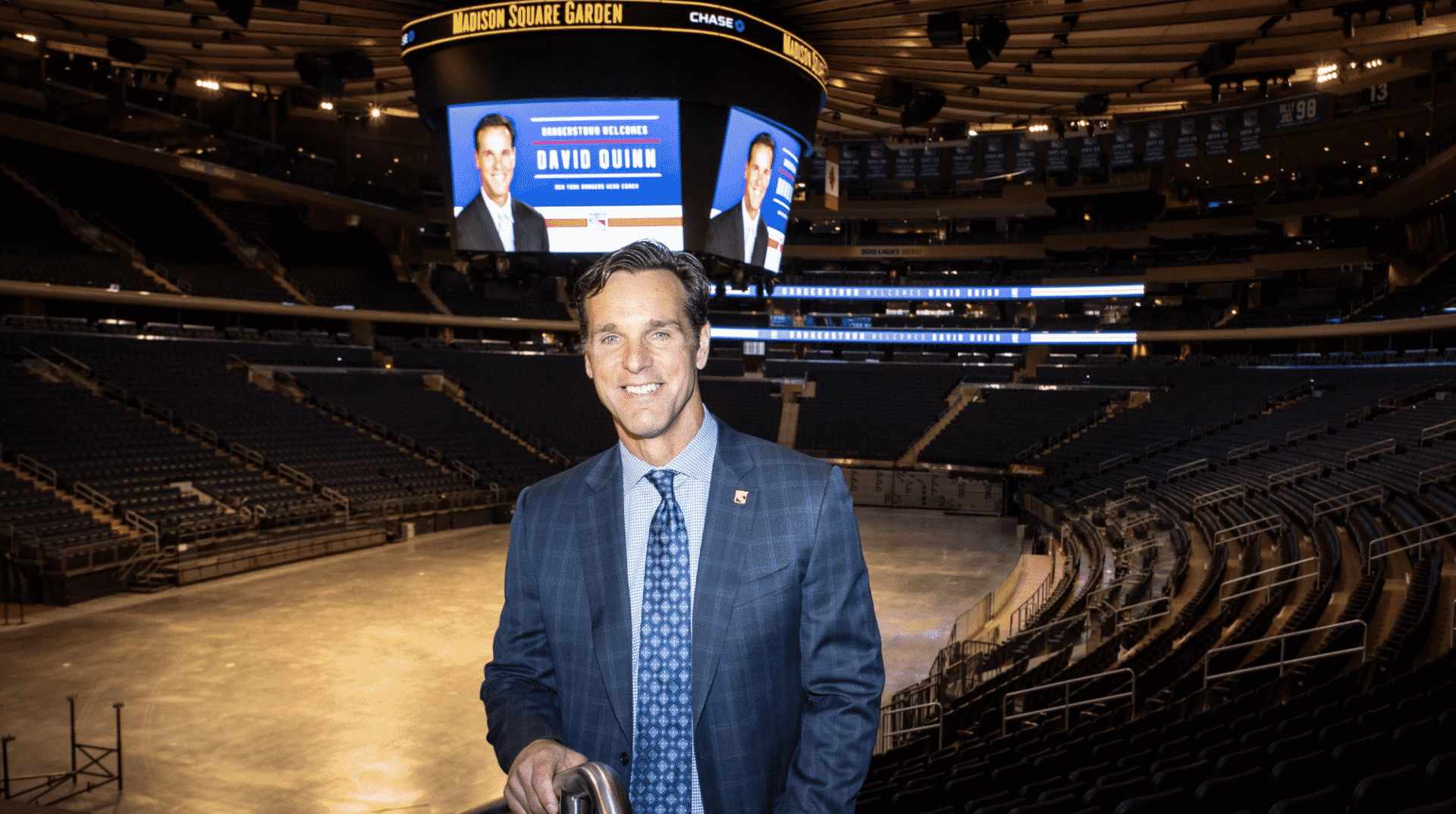 The Rangers find the right coach for a rebuilding team