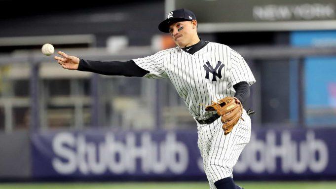 New York Yankees Ronald Torreyes