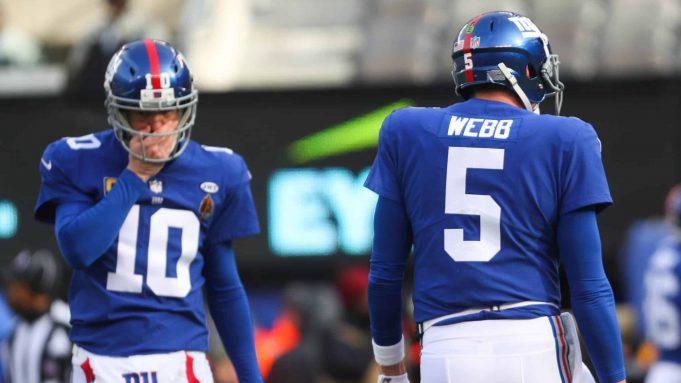 New York Giants Davis Webb