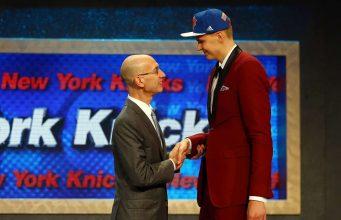 New York Knicks Kristaps Porzingis NBA Draft