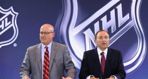 2016 NHL Awards - Board Of Governors Press Conference, Bill Daley, Gary Bettman