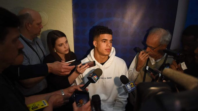 Michael Porter Jr. cancels second pro day because of strained hip