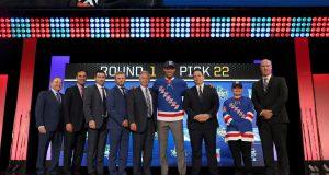 K'Andre Miller new York Rangers