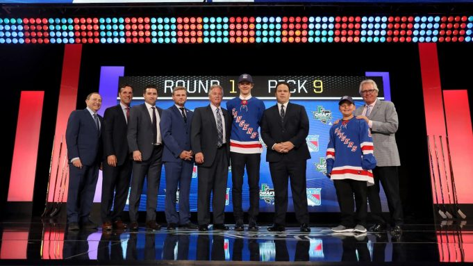The Rangers draft was a successful one