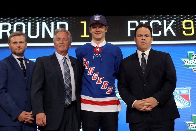 Vitaly Kravtsov New York Rangers