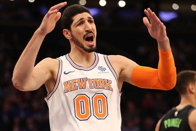 Enes Kanter New York Knicks