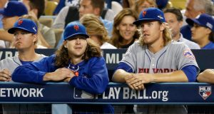 New York Mets Jacob deGrom Noah Syndergaard