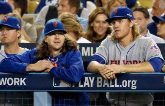 New York Mets Jacob deGrom Noah Syndergaard