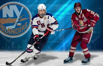 Oliver Wahlstrom, Noah Dobson, 2018 NHL Draft, New York Islanders