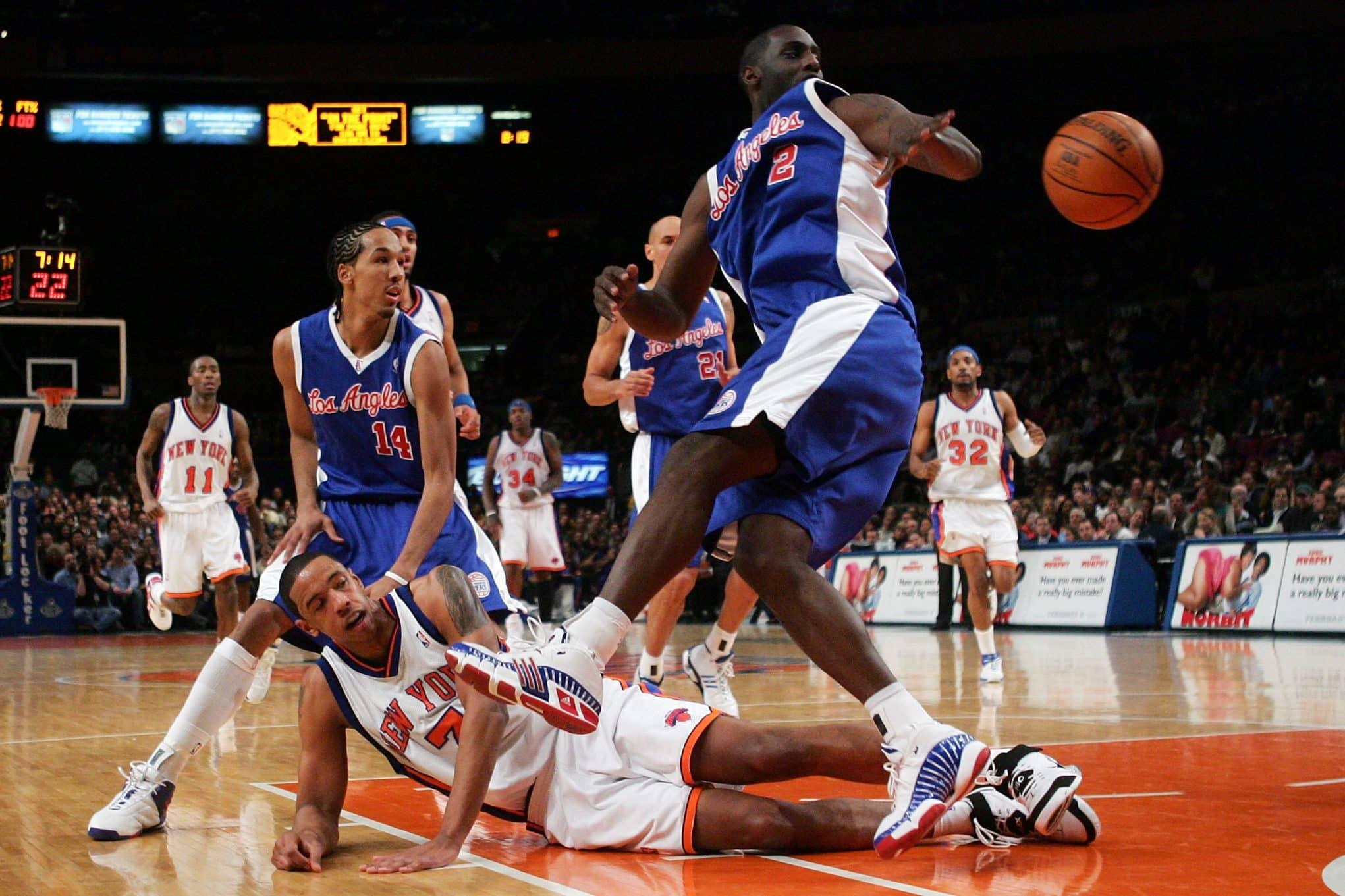 New York Knicks Channing Frye