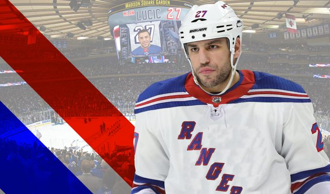 Lucic is a Ridiculous player to bring to the Rangers