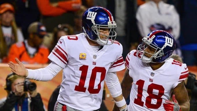 New York Giants third receiver