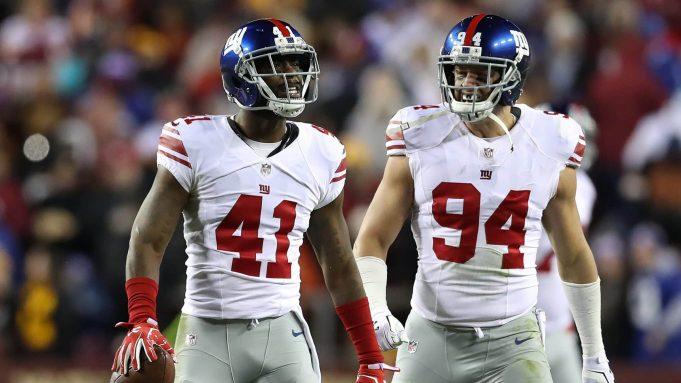 New York Giants Mark Herzlich