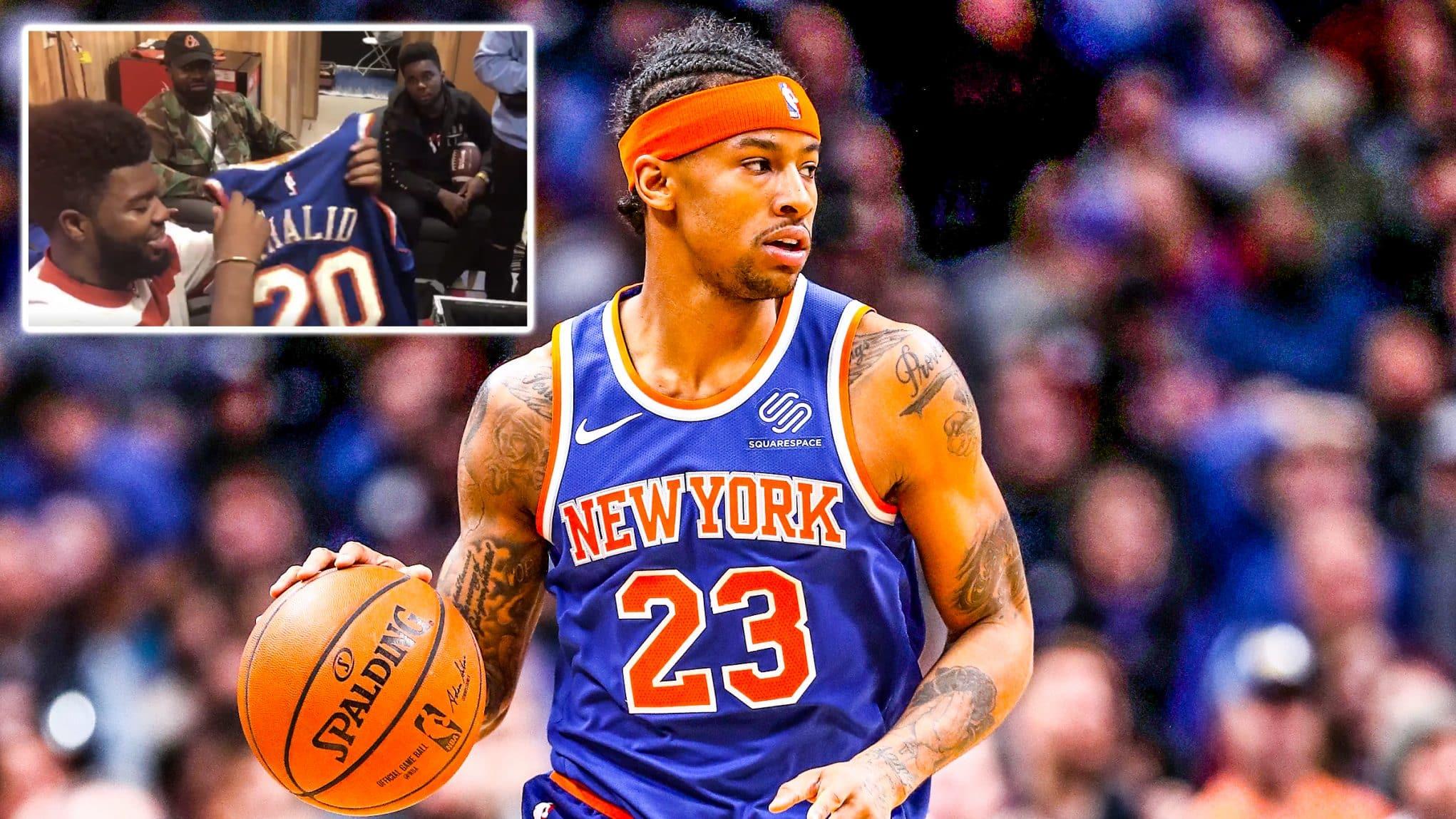 e9266f785 New York Knicks news  Reveal brand new gear