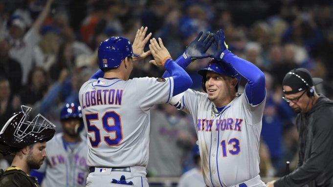 New York Mets Jose Lobaton