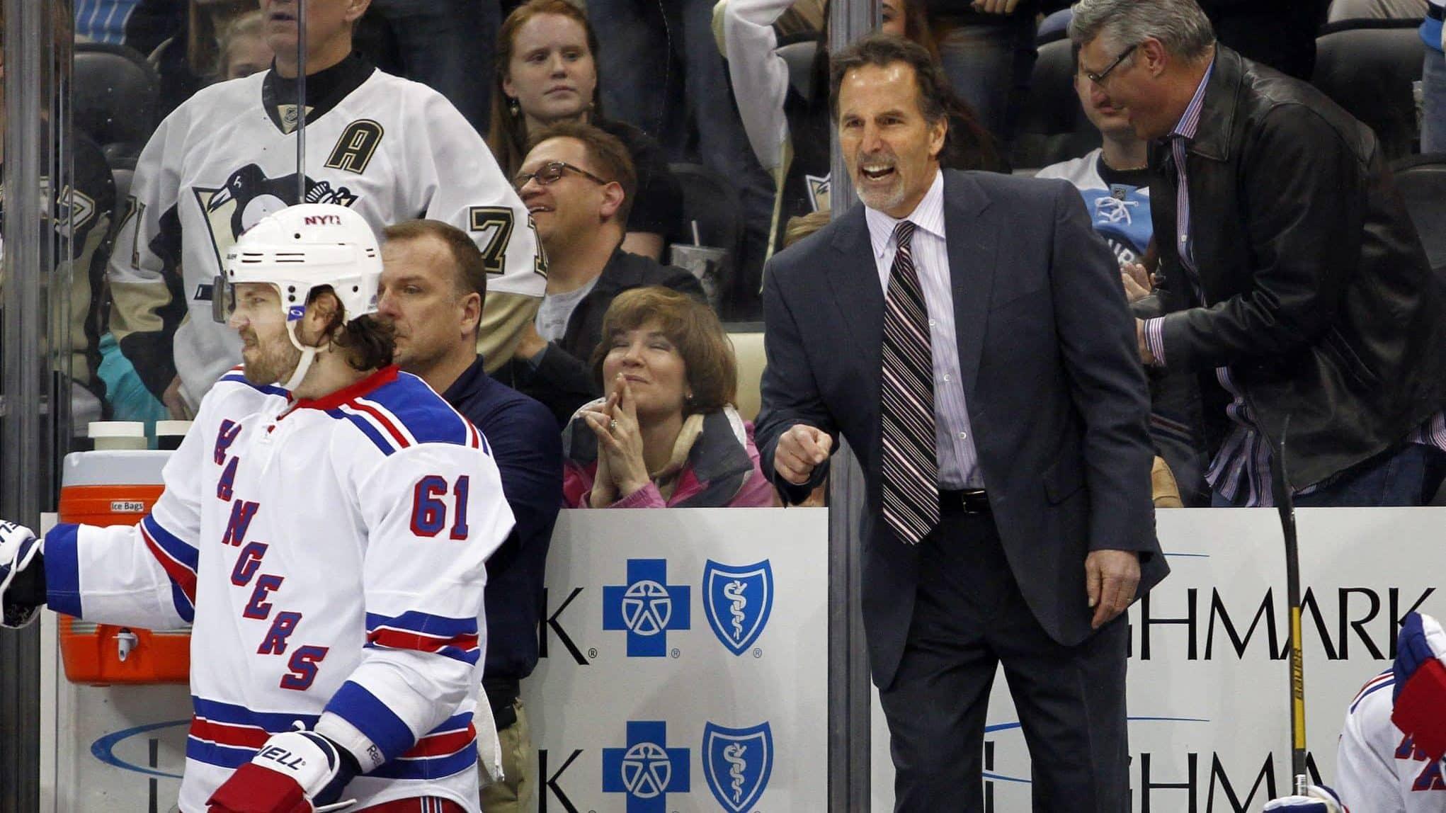 New York Rangers top seven coaches