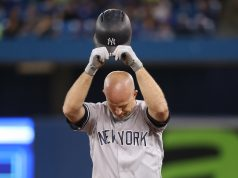 New York Yankees Brett Gardner