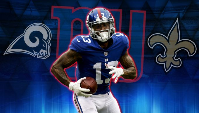 New York Giants Seven Possible Trade Scenarios For Odell