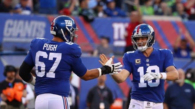 New York Giants Justin Pugh