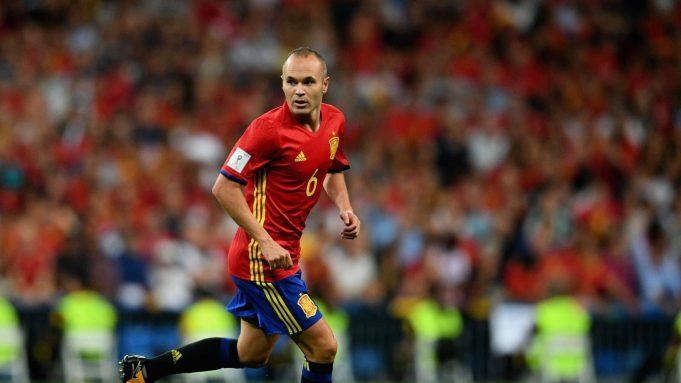 Spain Andres Iniesta