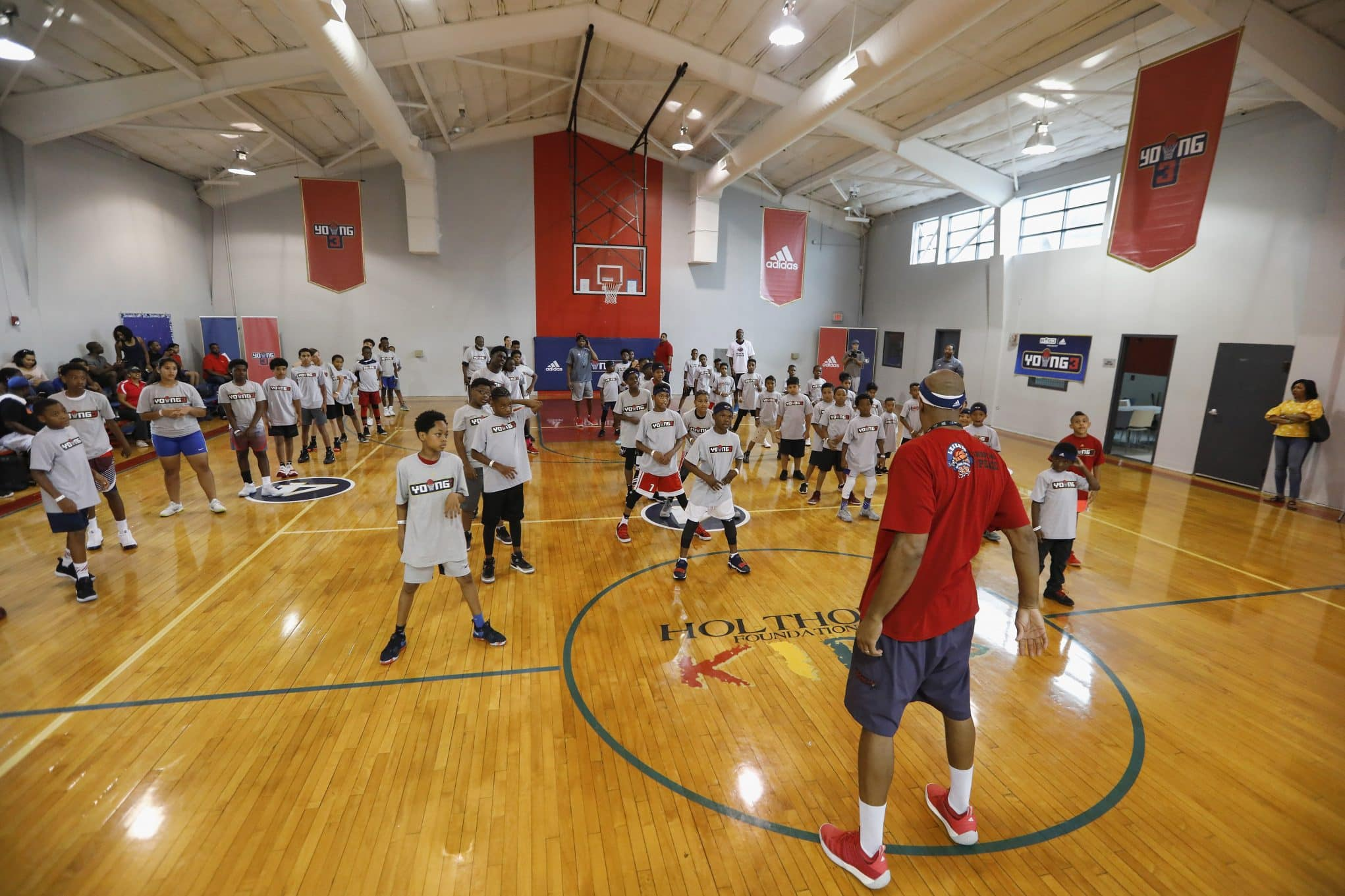 Young3 Basketball Clinic And Tournament In Houston