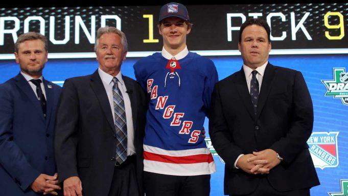 Vitali Kravtsov New York Rangers