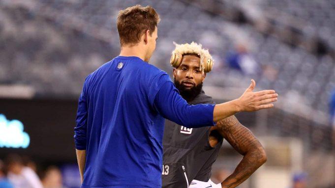 New York Giants Eli Manning Odell Beckham Jr.