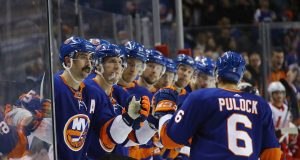 Detroit Red Wings v New York Islanders, Ryan Pulock, Goal For