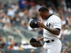 New York Yankees Aroldis Chapman