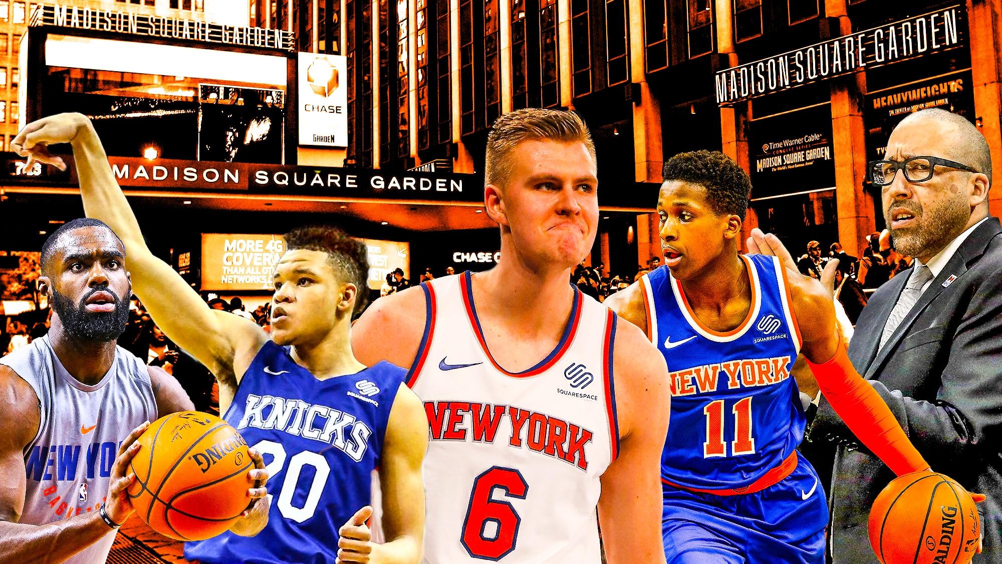 New York Knicks Schedule 2019 New York Knicks' plan to enter contention beyond 2018 2019