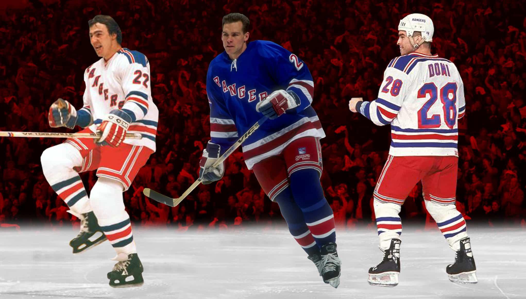New York Rangers History 7 Toughest Blueshirts In Franchise History