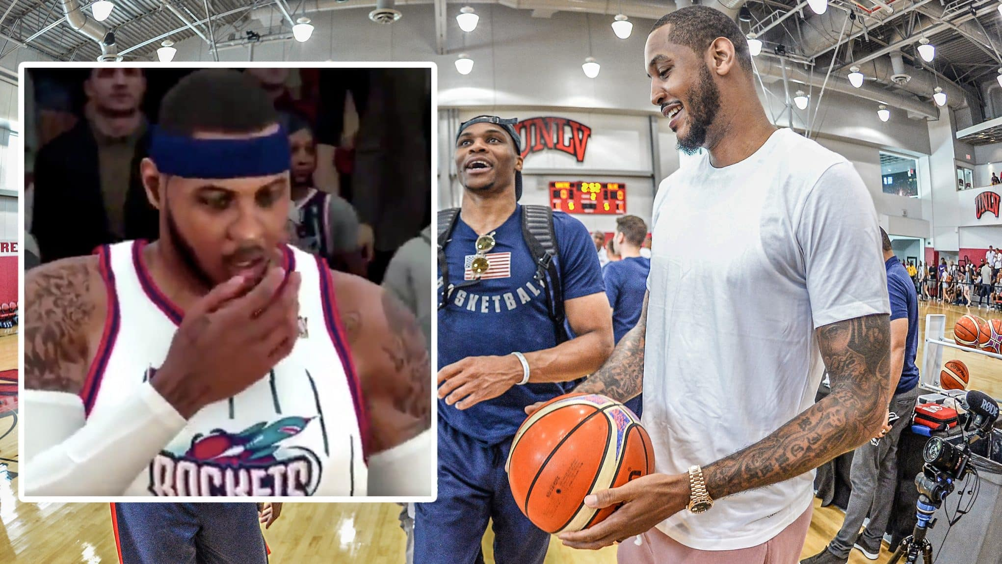 Carmelo Anthony Russell Westbrook