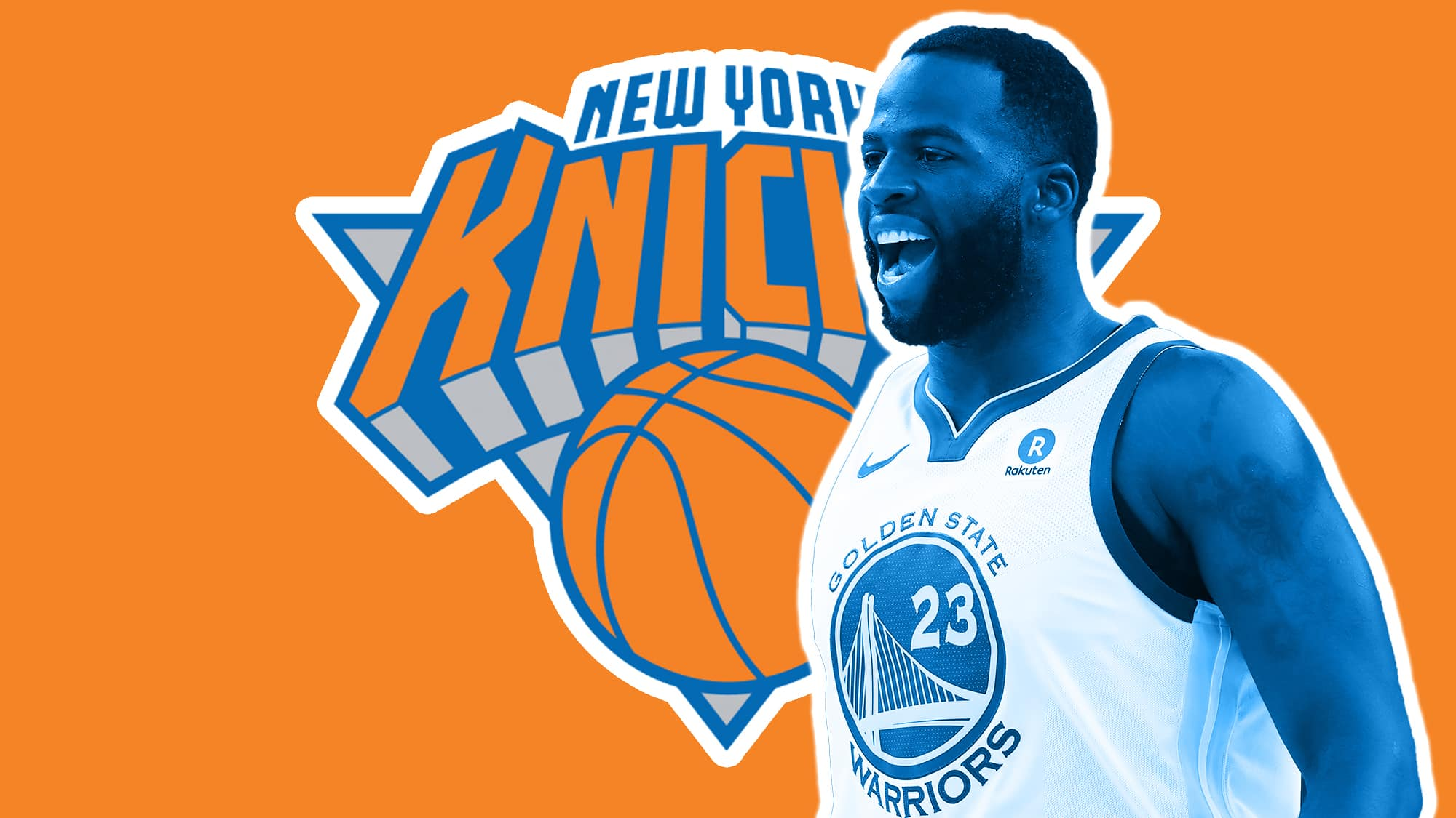 reputable site f1f35 4383d New York Knicks: The Draymond Green to the Knicks noise will ...
