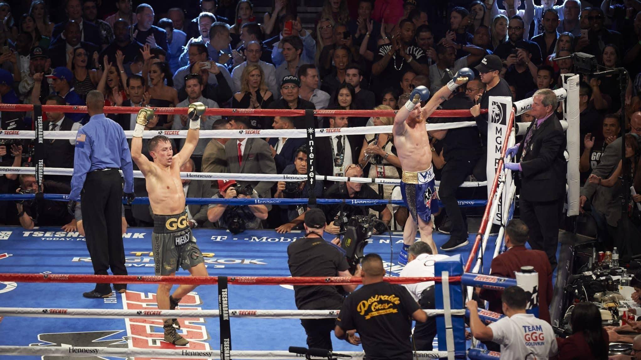 Canelo Alvarez vs Gennady Golovkin, WBA/WBC/IBF/IBO World Middleweight Title