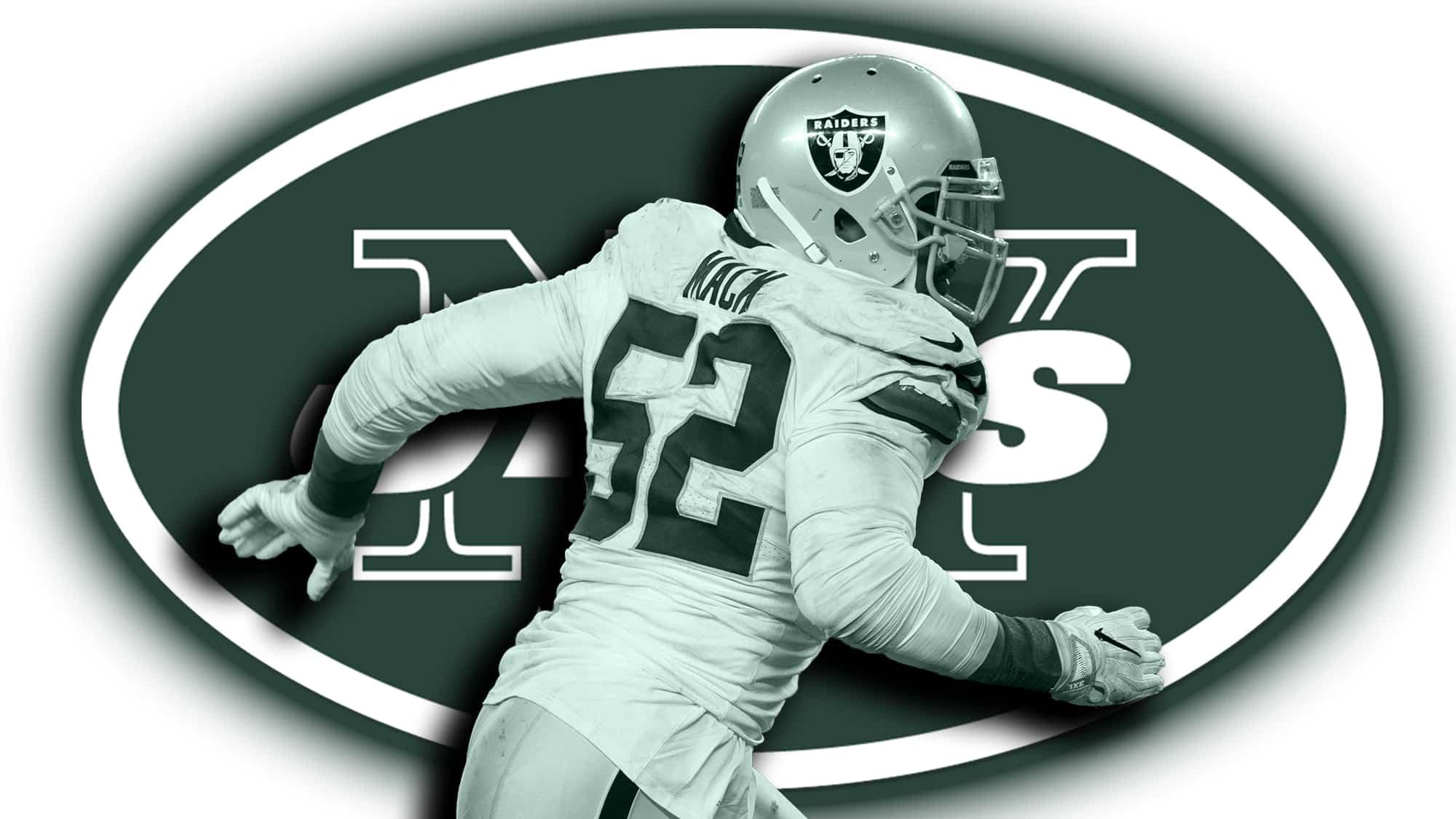 promo code dbfdc e8387 New York Jets call Oakland Raiders regarding Khalil Mack ...