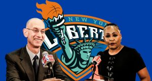 Adam Silver Lisa Borders