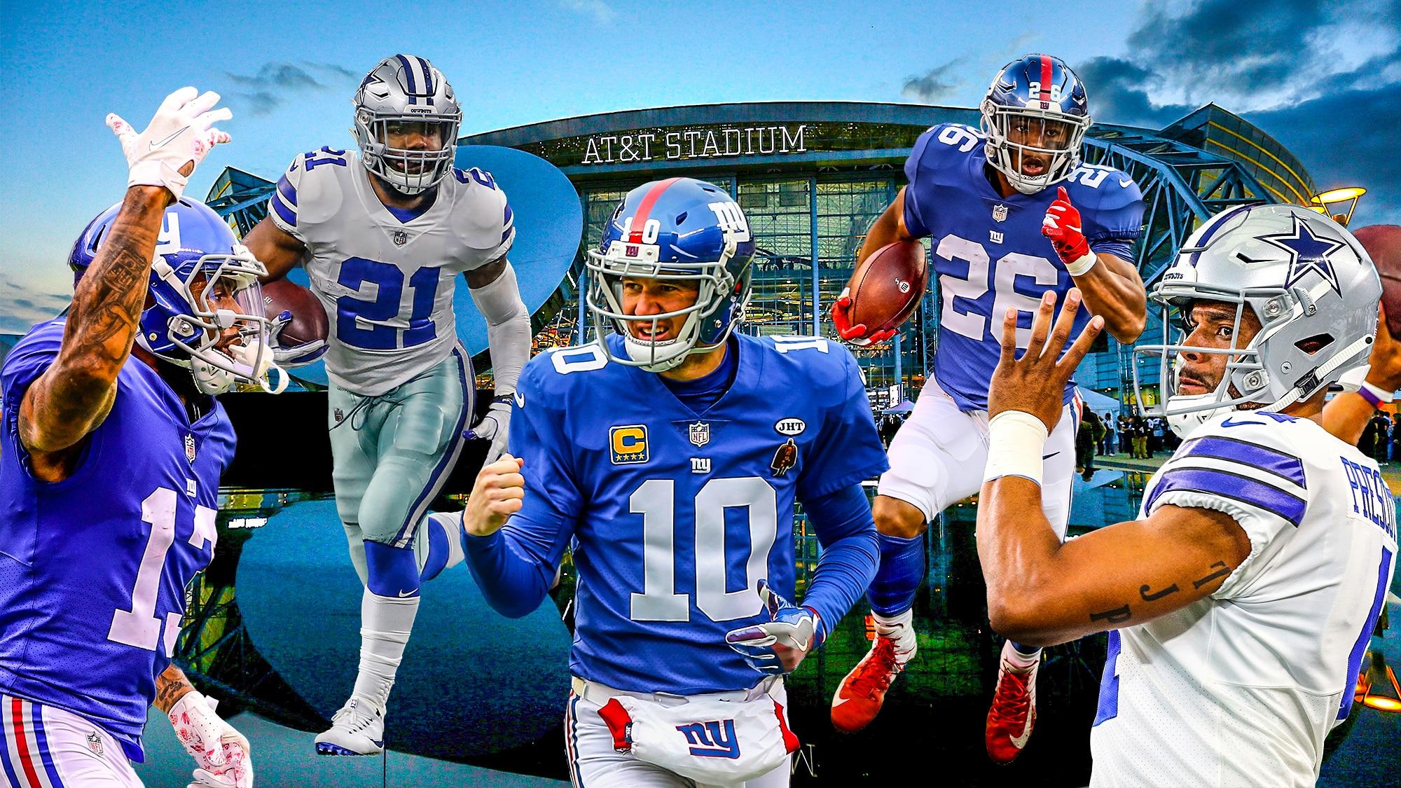 New York Giants Dallas Cowboys