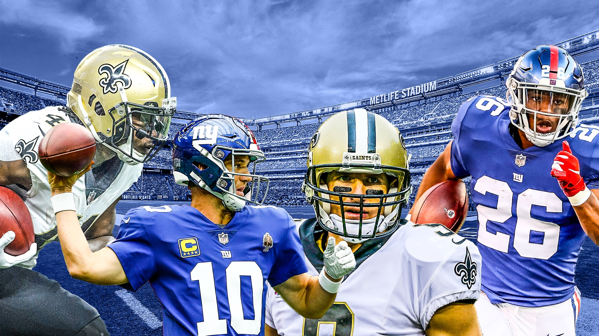 Giants Saints