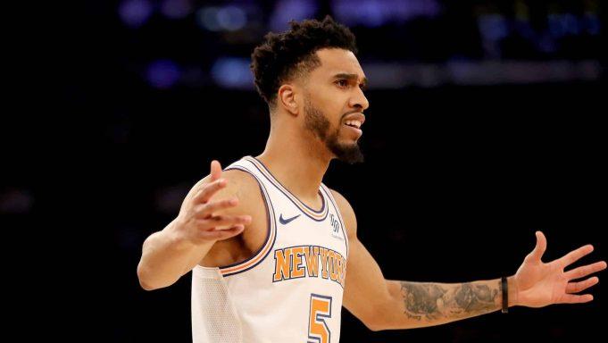 New York Knicks Courtney Lee
