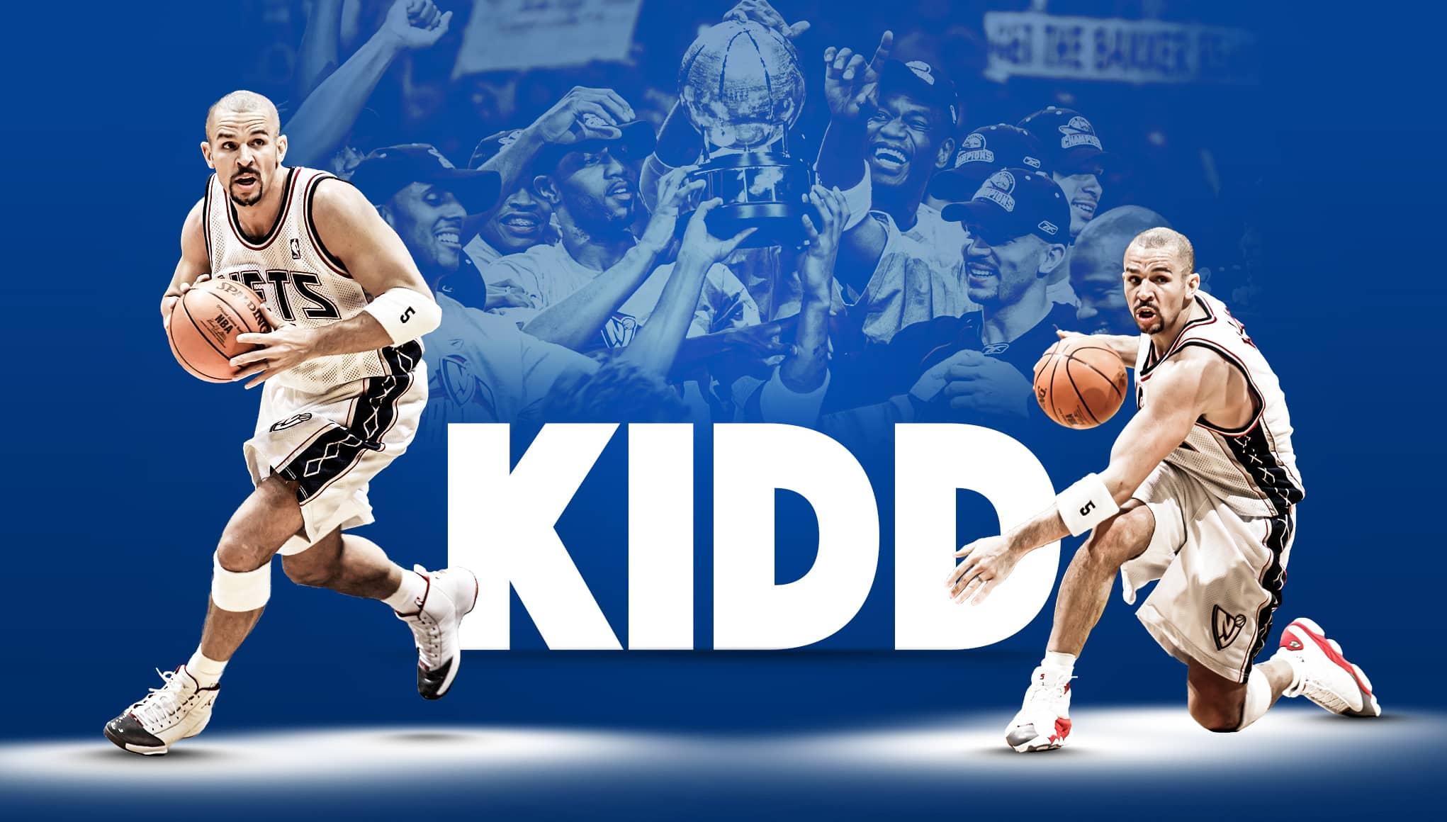 the best attitude 1e6d3 cf408 New Jersey Nets: Jason Kidd's 5 Hall of Fame moments