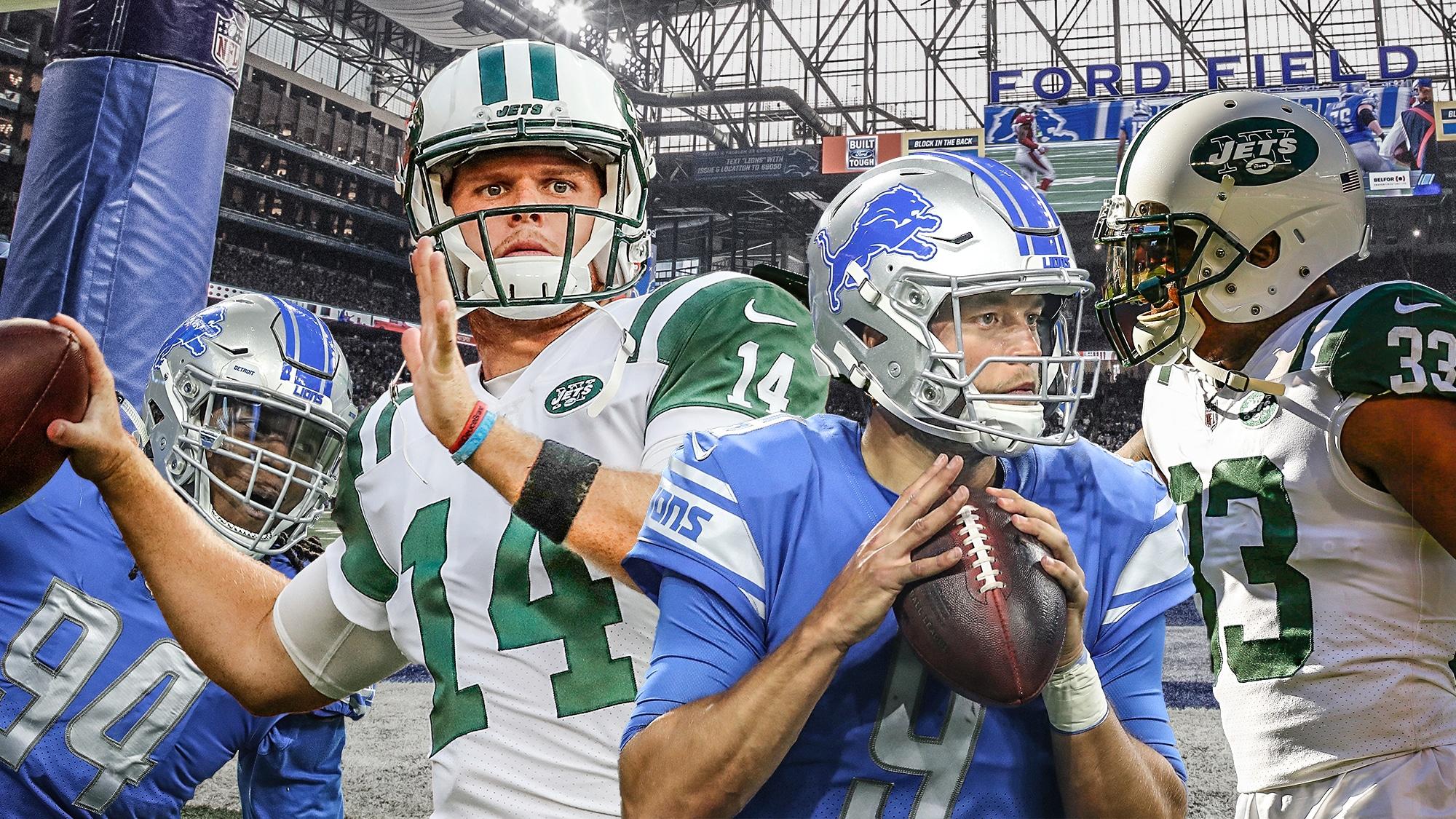 Jets Lions