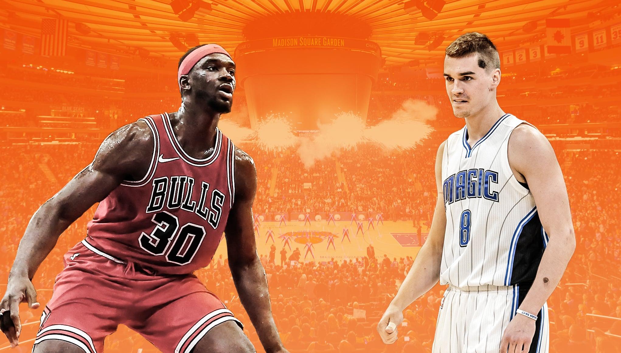 New York Knicks Noah Vonleh Mario Hezonja