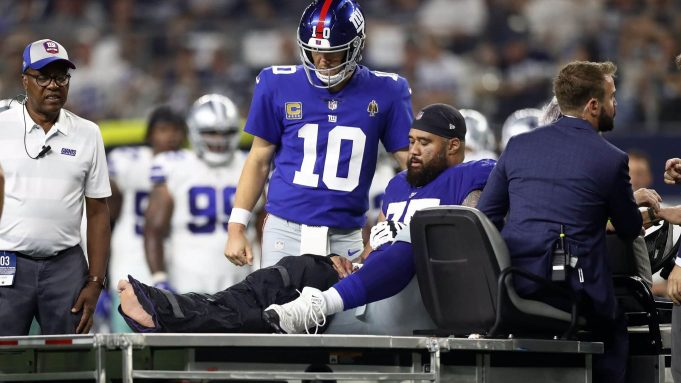 New York Giants Jon Halapio