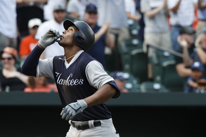 Miguel Andujar wins second AL Rookie of the Month