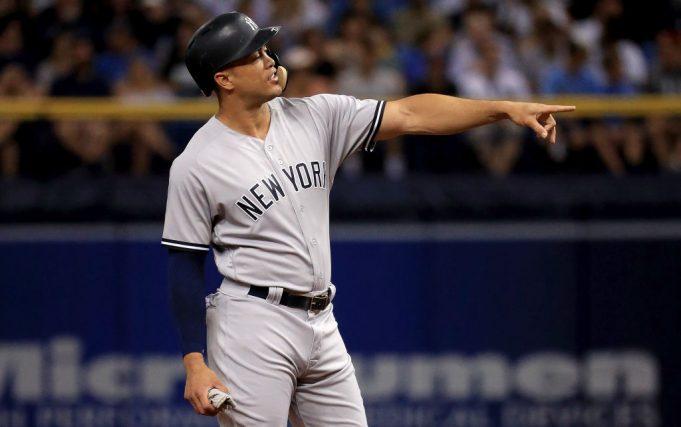 New York Yankees Giancarlo Stanton