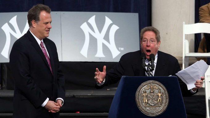 John Sterling New York Yankees