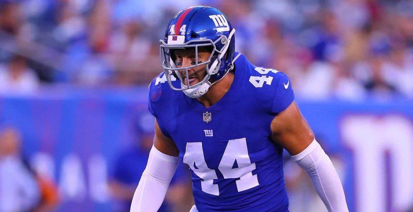 New York Giants: Mark Herzlich left his mark despite recent cut
