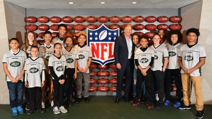 NFL Experience Times Square Opening Celebration